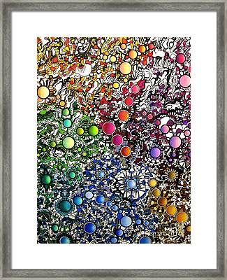Coalescence Version 2 Framed Print by Devin  Cogger