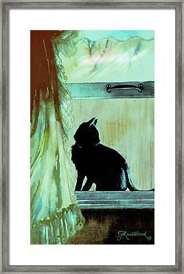 Coaly Framed Print