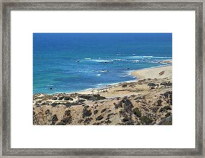 Framed Print featuring the photograph Coast Baja California by Christine Till