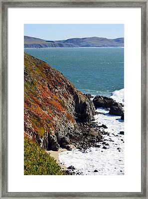 Coast Framed Print by Brent Dolliver