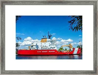 Coast Guard Cutter Mackinaw Framed Print