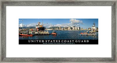 Coast Guard Hawaii Framed Print by John Robert Cole