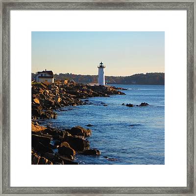 Coast Guard New Castle Nh Framed Print