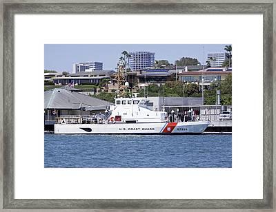 Coast Guard Framed Print by Shoal Hollingsworth