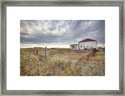 Coast Guard Station Framed Print by Eric Gendron