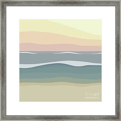 Coast Framed Print by Henry Manning