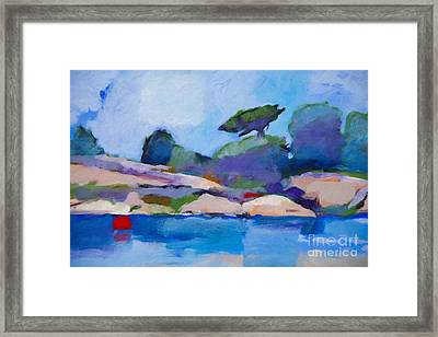 Coast Impression I Framed Print by Lutz Baar