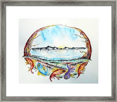 Coast Framed Print by Natasa Dobrosavljev