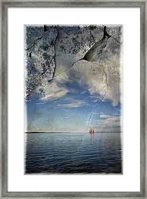 Coast Of Maine Framed Print