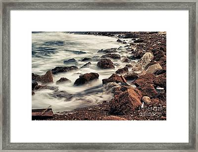 Coast Framed Print by Stelios Kleanthous