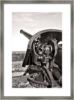 Coastal Artillery Framed Print