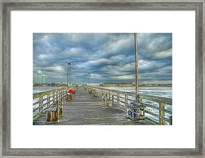 Coastal Blankets Framed Print by Betsy Knapp