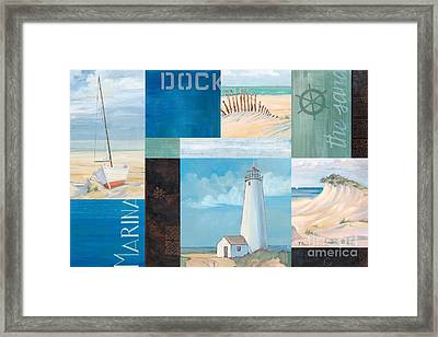 Coastal Breeze II Framed Print