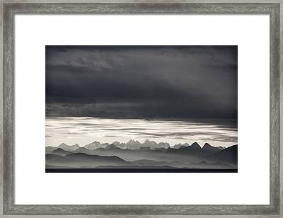 Coastal British Columbia Framed Print by Carol Leigh