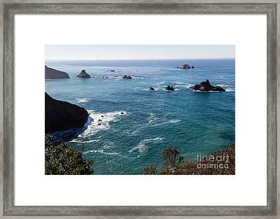 Coastal California - 473 Framed Print by Stephen Parker