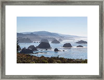 Coastal California - 474 Framed Print by Stephen Parker
