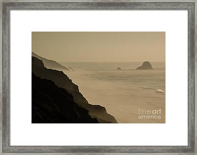 Coastal California  1.7143 Framed Print by Stephen Parker