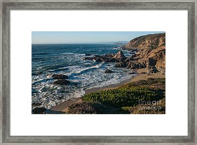 Coastal California  2.2744 Framed Print by Stephen Parker