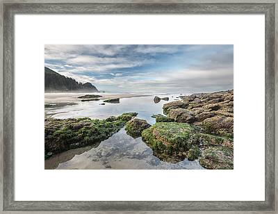 Coastal Colors Framed Print by Jon Glaser