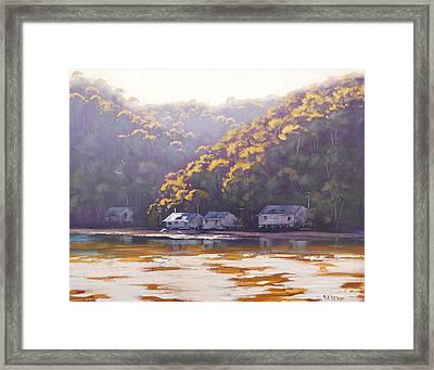 Coastal Creek Framed Print by Graham Gercken