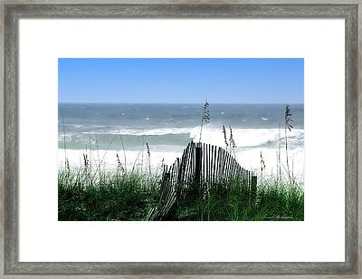 Coastal Desire Framed Print by Debra Forand