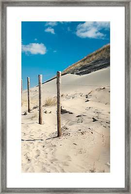 Coastal Dunes In Holland 2 Framed Print by Jenny Rainbow