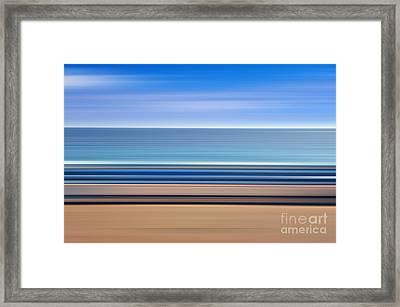 Coastal Horizon 1 Framed Print by Delphimages Photo Creations