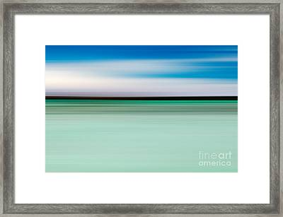 Coastal Horizon 5 Framed Print by Delphimages Photo Creations