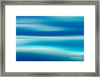Coastal Horizon 7 Framed Print by Delphimages Photo Creations