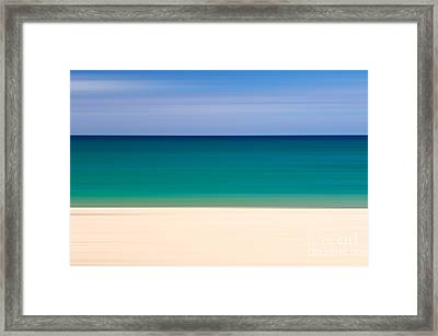 Coastal Horizon 8 Framed Print by Delphimages Photo Creations