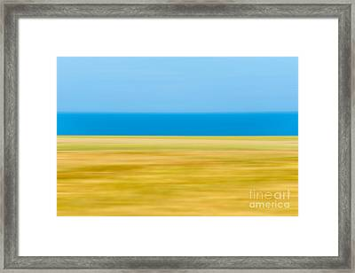 Coastal Horizon 9 Framed Print by Delphimages Photo Creations
