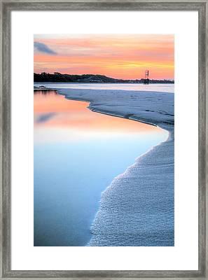Coastal Framed Print by JC Findley