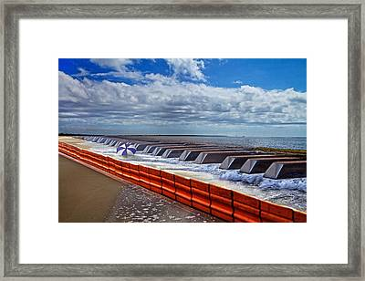 Coastal Keys Framed Print