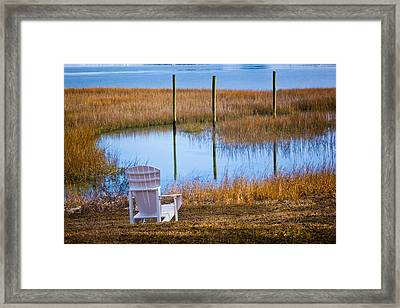 Coastal Leisure Framed Print