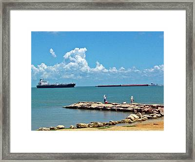 Coastal Living Framed Print