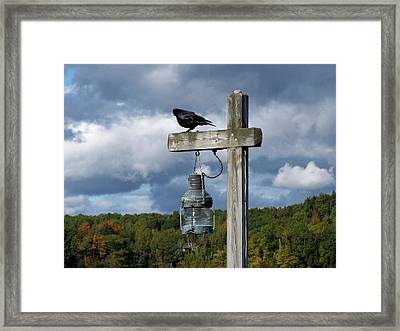 Framed Print featuring the photograph Coastal Maine by Gene Cyr