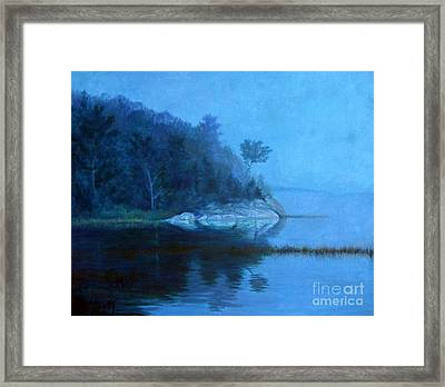 Coastal Mist   Framed Print by Gerard Natale