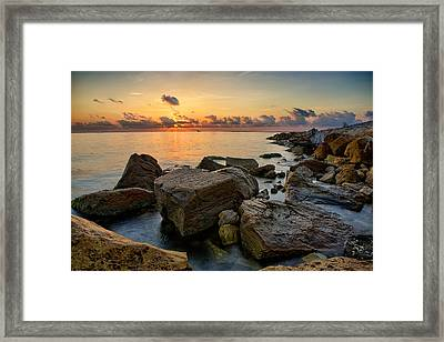 Coastal Morning Framed Print by Thomas Zimmerman
