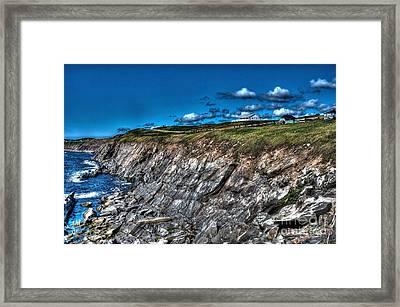 Framed Print featuring the photograph Coastal Nova Scotia by Joe  Ng