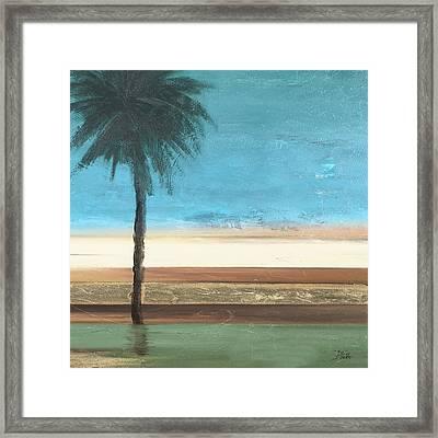Coastal Palms IIi Framed Print