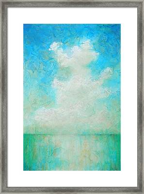 Framed Print featuring the painting Coastal by Pam Talley