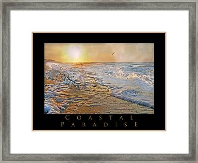Coastal Paradise Framed Print