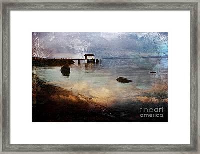 Coastal Path Framed Print by Randi Grace Nilsberg