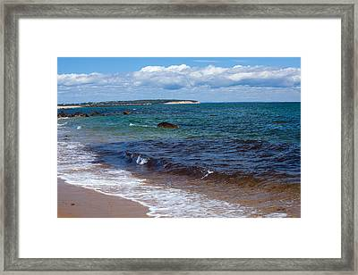 Coastal Pleasure Framed Print by Karol Livote