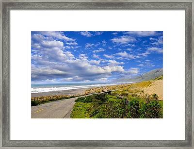 Coastal Road Framed Print
