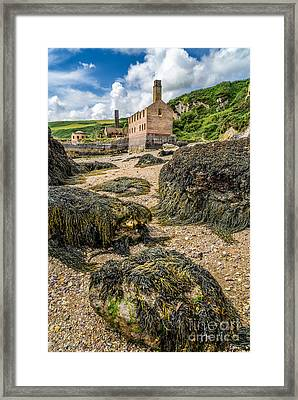 Coastal Ruins Framed Print