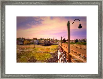 Coastal Shores Framed Print by Tara Turner