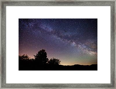 Coastal Skies Framed Print by Darren  White
