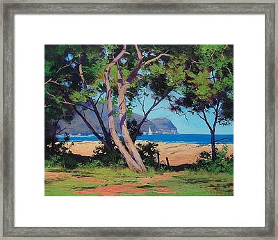 Coastal Summer Framed Print
