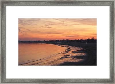 Coastal Sunset  II Framed Print by Margie Avellino
